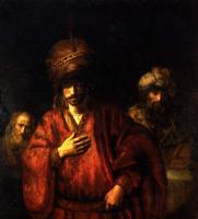 Rembrandt - Аман в опале