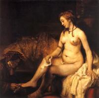< Вирсавия с письмом царя Давида > :: Харменс ван Рейн Рембрандт
