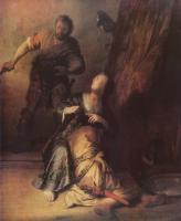 Rembrandt (Рембрандт) - Самсон и Далила