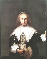 Rembrandt - Агата Бас