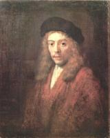 Rembrandt - Мужчина в берете