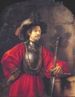 Rembrandt - Портрет мужчины в военной одежде