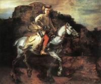 Rembrandt - Польский всадник