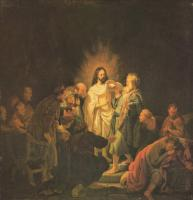 Rembrandt (Рембрандт) - Фома неверующий