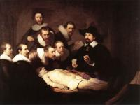 Rembrandt - Урок анатомии доктора Тульпа