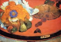 Гоген Поль ( Paul Gauguin ) - Натюрморт a la fete Gloanec
