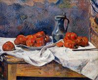 Гоген Поль ( Paul Gauguin ) - Помидоры и кувшин
