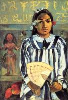 Гоген Поль ( Paul Gauguin ) - Marahi Metua no Tehamana. У Техаманы было много предков
