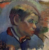 Paul Gauguin - Портрет мальчика