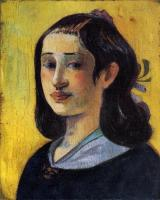 Paul Gauguin - Портрет Алин Гоген
