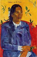 Paul Gauguin - Vahine no te Tiare (Женщина с цветком)