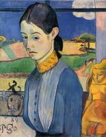 Paul Gauguin - Молодая бретонка