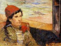 Paul Gauguin - Девушка у окна