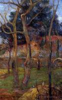 Гоген Поль ( Paul Gauguin ) - Голые деревья
