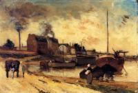 Гоген Поль ( Paul Gauguin ) - Фабрики и набережная Гренелль