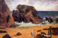 Гоген Поль ( Paul Gauguin ) - Коровы на море