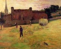 Paul Gauguin - Сенокос