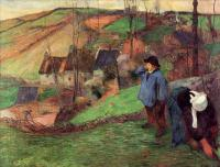Гоген Поль ( Paul Gauguin ) - Маленький бретонец Шеферд