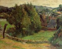 Гоген Поль ( Paul Gauguin ) - Гора Сан-Маргарит, недалеко от Пресвитерия