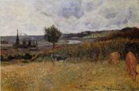 Гоген Поль ( Paul Gauguin ) - Окрестности Руана
