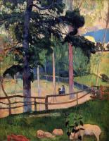 Гоген Поль ( Paul Gauguin ) - Ностальгическая прогулка
