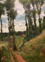 Paul Gauguin - Тополя