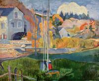 Paul Gauguin - Мельница Давида в Понт- Эвене