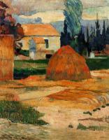 Paul Gauguin - Крестьянский дом в Арли