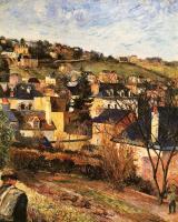 Paul Gauguin - Голубые крыши близ Руана