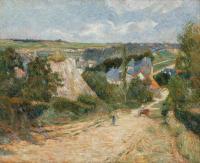 Paul Gauguin - Въезд в деревню