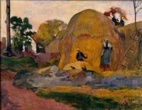 Paul Gauguin - Жёлтые стога (Золотая жатва)