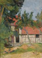Paul Gauguin - Конюшня недалеко от Диппе
