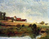 Paul Gauguin - Ферма в Осни