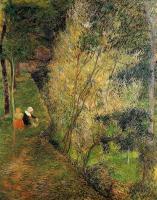 Paul Gauguin - Женщина с ребёнком из Понт-Эвена