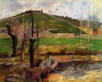 Гоген Поль ( Paul Gauguin ) - Река Эвен под горой Сан-Маргарит
