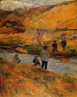 Paul Gauguin - Бретонские рыбаки