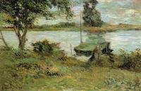 Paul Gauguin - Берега реки Уаза