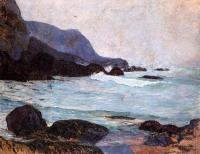 Paul Gauguin - Морское побережье Беллангенай