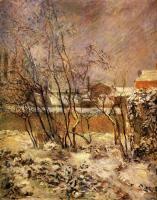 Paul Gauguin - Снег на улице Карсель