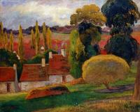Paul Gauguin - Ферма в Бретони