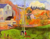 Paul Gauguin - Бретонский пейзаж
