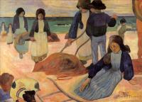 Гоген Поль ( Paul Gauguin ) - Собиратели водорослей