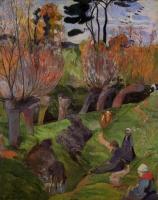 Paul Gauguin - Ивы