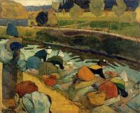 Paul Gauguin - Прачки на Рубин дю Руа, Арли