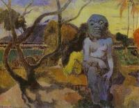 Paul Gauguin - Rave te htit aamy (Идол)