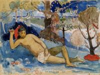 Гоген Поль ( Paul Gauguin ) - Te Arii Vahine (Королева красоты)