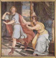 Фрески, монументальная живопись, роспись стен - Цикл фресок в Каза Бартольди