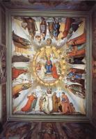 Фрески, монументальная живопись, роспись стен - Цикл фресок в Казино Массимо (Рим), Дантевский зал