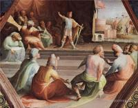 Фрески, монументальная живопись, роспись стен - Сципион со своими солдатами