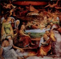 Фрески, монументальная живопись, роспись стен - Смерть Марии